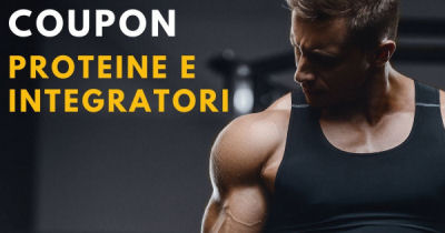Coupon Integratori Sportivi